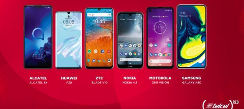 Telcel RED 2019 smartphones