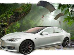 Tesla Model S PUBG Mobile