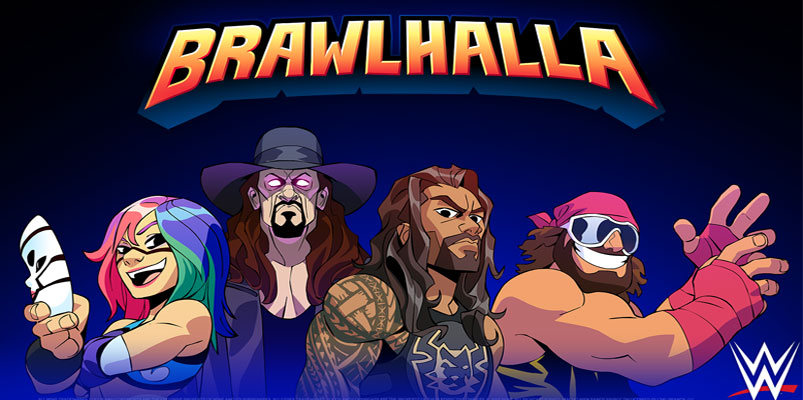 Randy Savage, Undertaker, Roman Reigns pelean en Brawlhalla