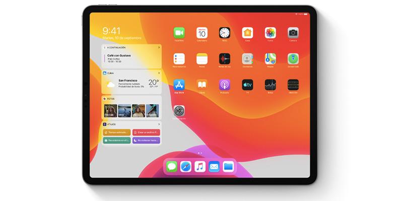 iOS 13 70 por ciento iPad iPhone