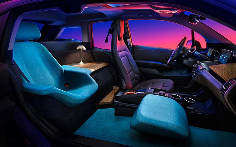 BMW i3 Urban Suite CES 2020 interior