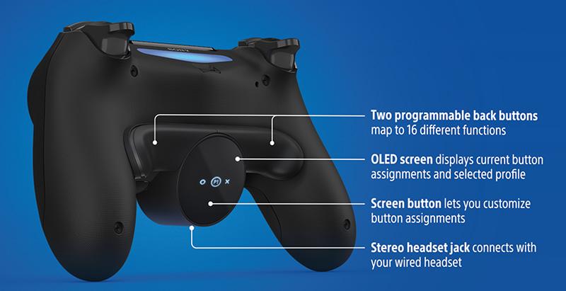 Back Button Attachment funciones