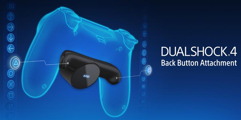 Back Button Attachment añade dos botones más al DualShock 4