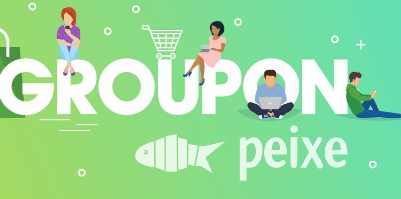 En 2020, Groupon cambia de nombre y lo conocerás como Peixe