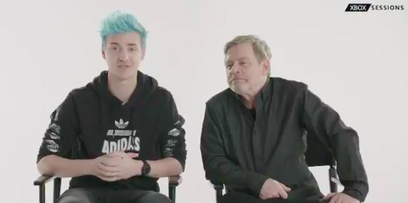 Mark Hamill jugará Fortnite junto a Ninja y lo puedes ver por Mixer