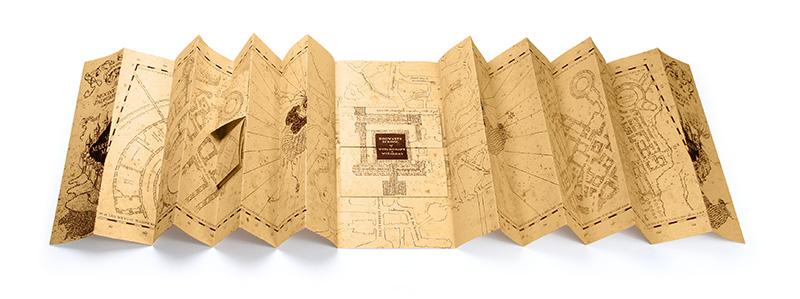 Harry Potter Mapa merodeador