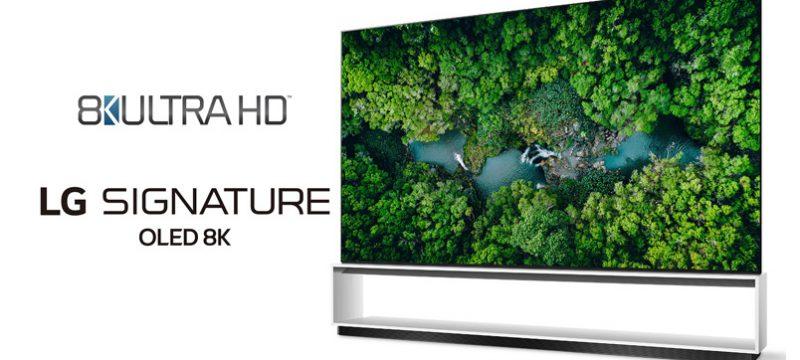 LG 8K Ultra HD 2020