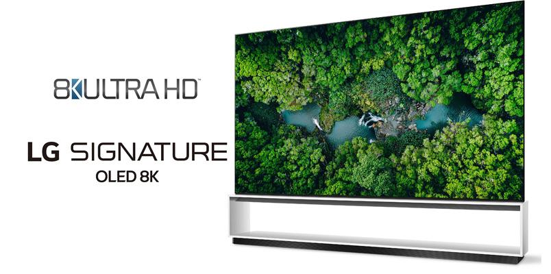 Televisores LG son los primeros en tener el estándar 8K Ultra HD