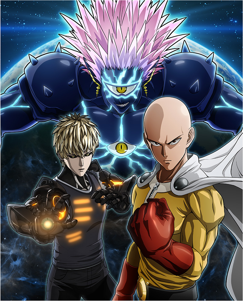 One Punch Man A Hero Nobody Knows Arte