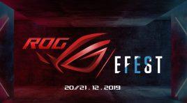 Tenemos boletos para el ROG EFEST 2019 en la CDMX