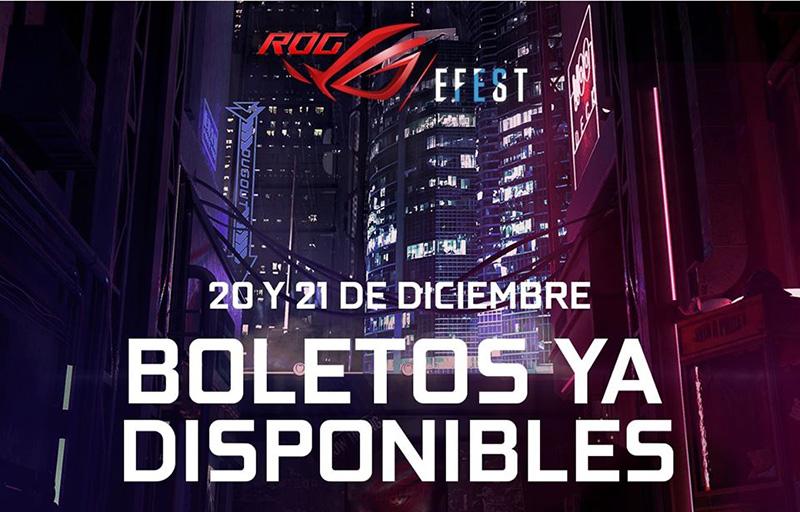 ROG EFEST 2019 boletos