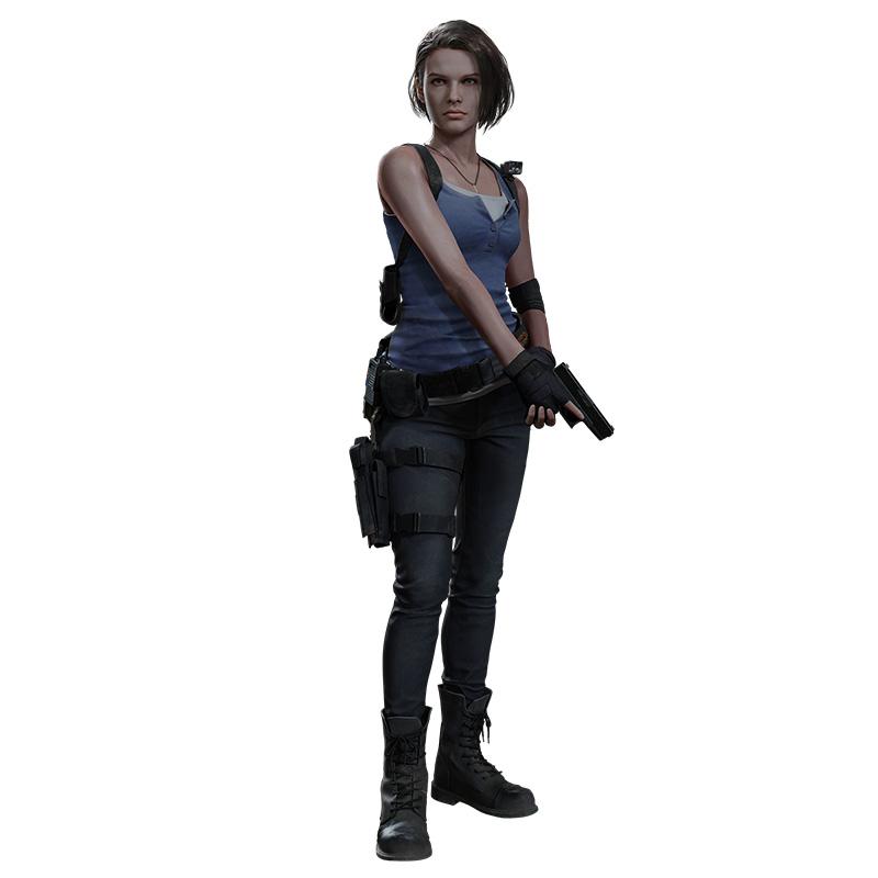 Resident Evil 3 Jill Character Arte