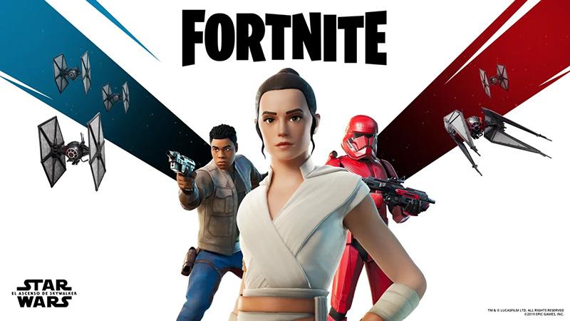Star Wars x Fortnite contenido