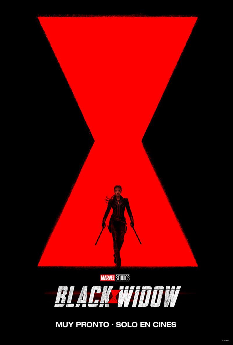 Teaser poster Black Widow