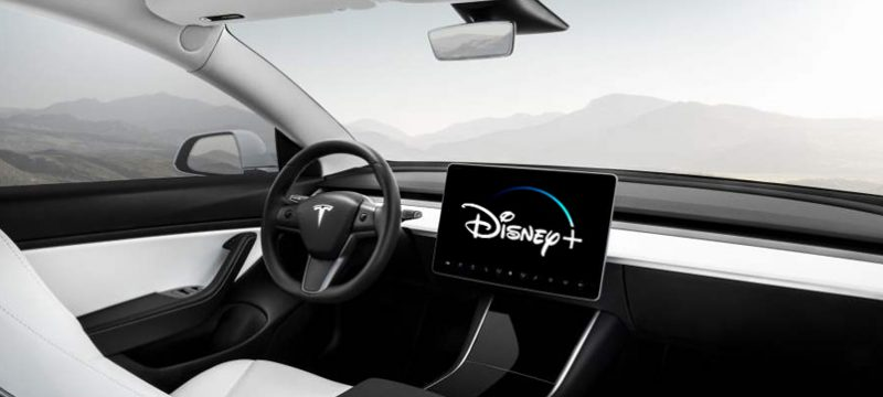 Tesla Disney Plus