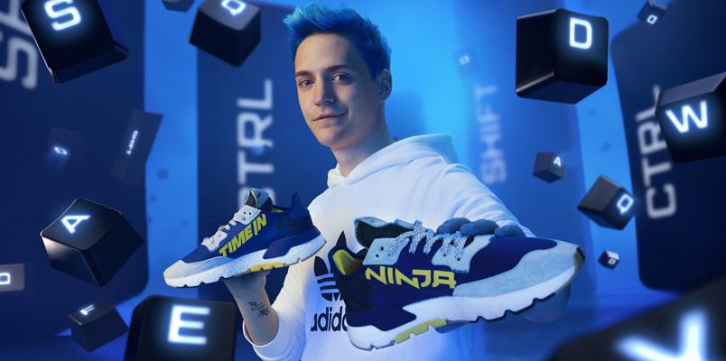 Conoce los nuevos tenis de Ninja y adidas: Time In Nite Jogger