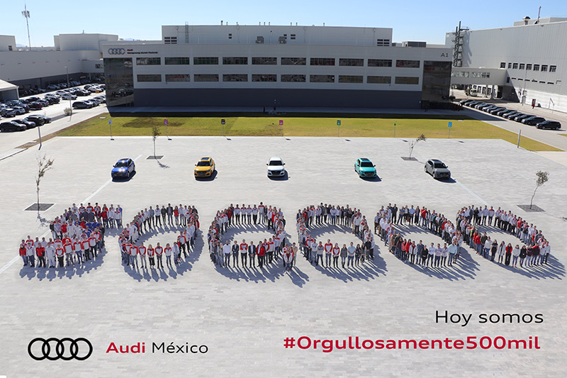 Audi Mexico 500 mil Q5