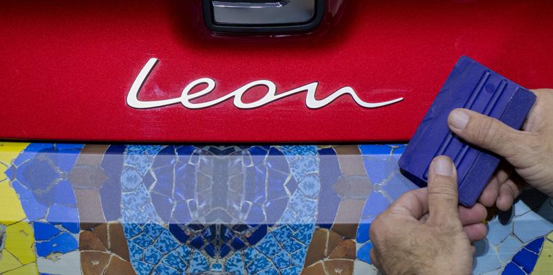 La técnica de camuflaje para la cuarta generación de SEAT León