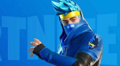 Fortnite atuendo Ninja