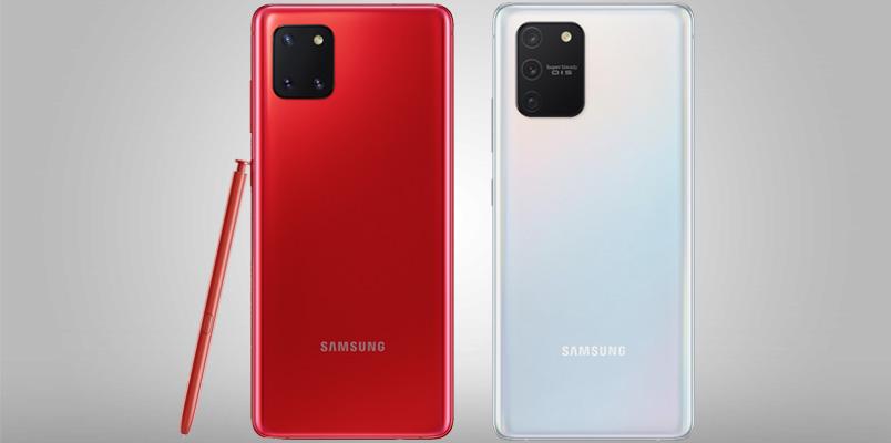 Samsung presenta los Galaxy Note 10 Lite y Galaxy S10 Lite