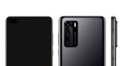 Huawei P40 renders