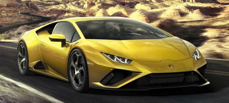 Lamborghini Huracán EVO Amazon Alexa