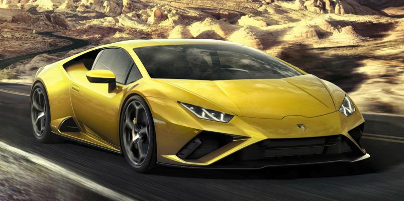 Lamborghini Huracán EVO también incorpora Amazon Alexa