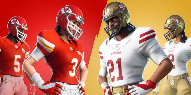 El Super Bowl LIV también se juega en Fortnite este fin de semana
