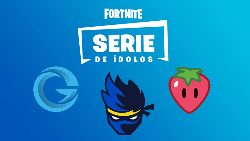 Ninja Fortnite series idolos