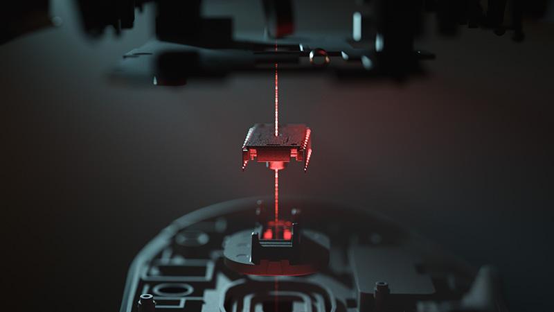 Razer DeathAdder V2 laser