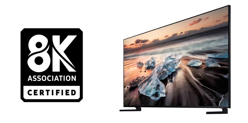 Samsung logra la certificación 8KA para sus nuevos televisores