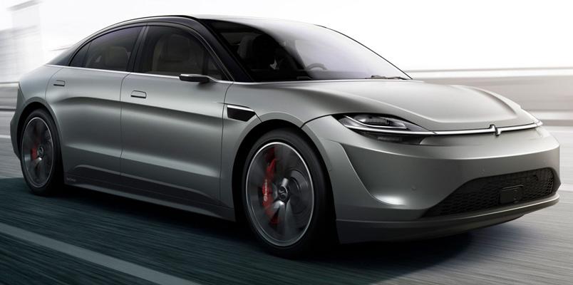 Sony apuesta por los coches eléctricos con su Vision-S