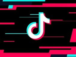 TikTok logo rojo