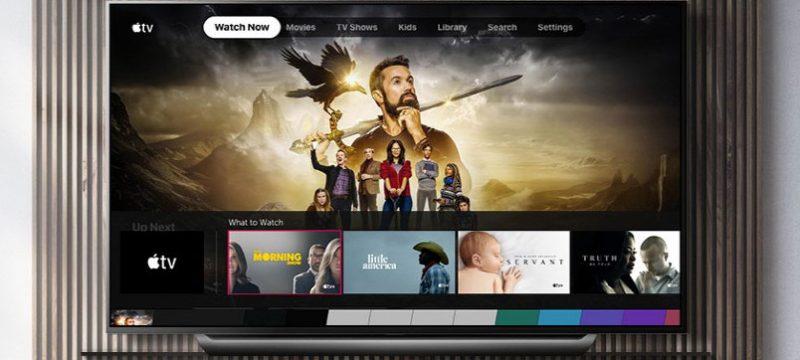 Apple TV LG OLED TV 2019