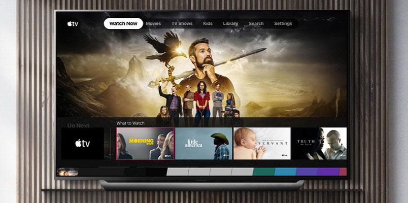 Apple TV ya está disponible para televisores LG OLED y NanoCell