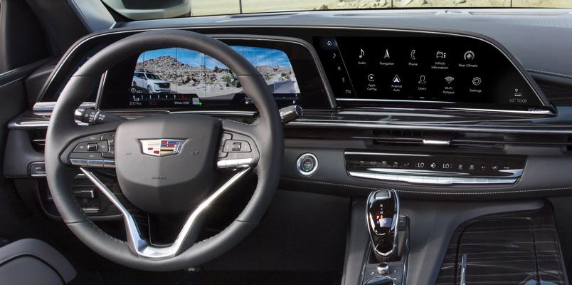 Cadillac Escalade 2021 LG OLED