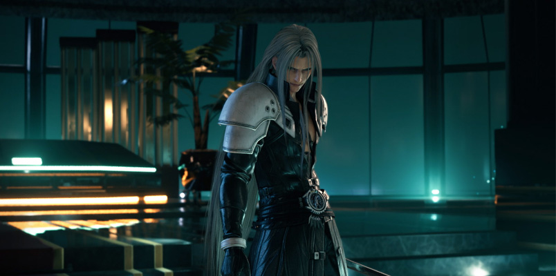 Disfruta de Hollow; el tema principal de Final Fantasy VII Remake