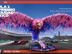 Formula 1 Gran Premio de Mexico 2020 poster Racing Point