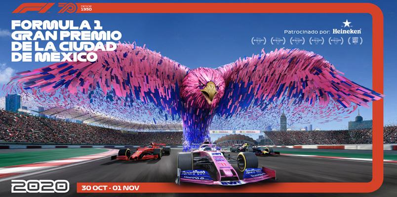 Formula 1 Gran Premio de la Ciudad de México 2020 mantiene su fecha