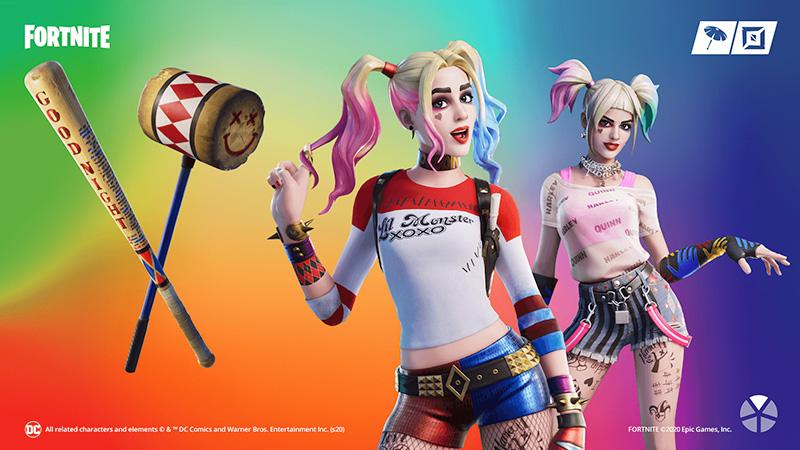 Harley Quinn Fortnite objetos