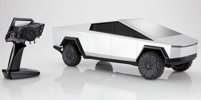 Hot Wheels anuncia el nuevo Tesla Cybertruck a control remoto