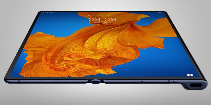 Huawei Mate Xs se presenta con tecnología 5G y pantalla plegable