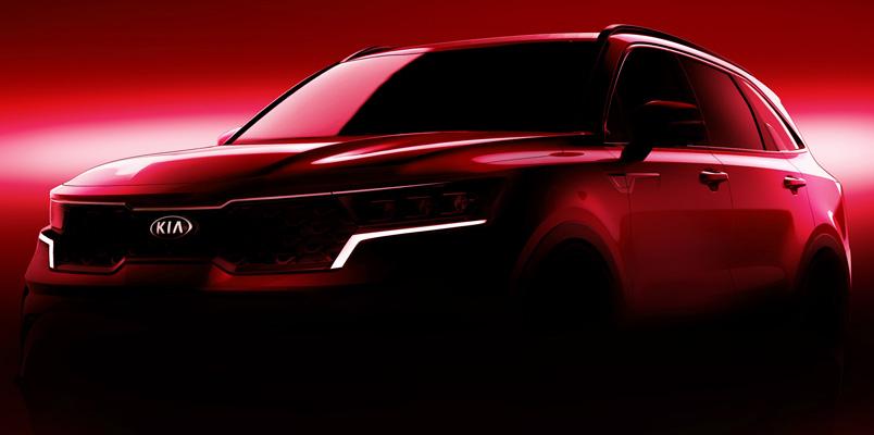 El nuevo KIA Sorento se presentará en el Auto Show de Ginebra 2020