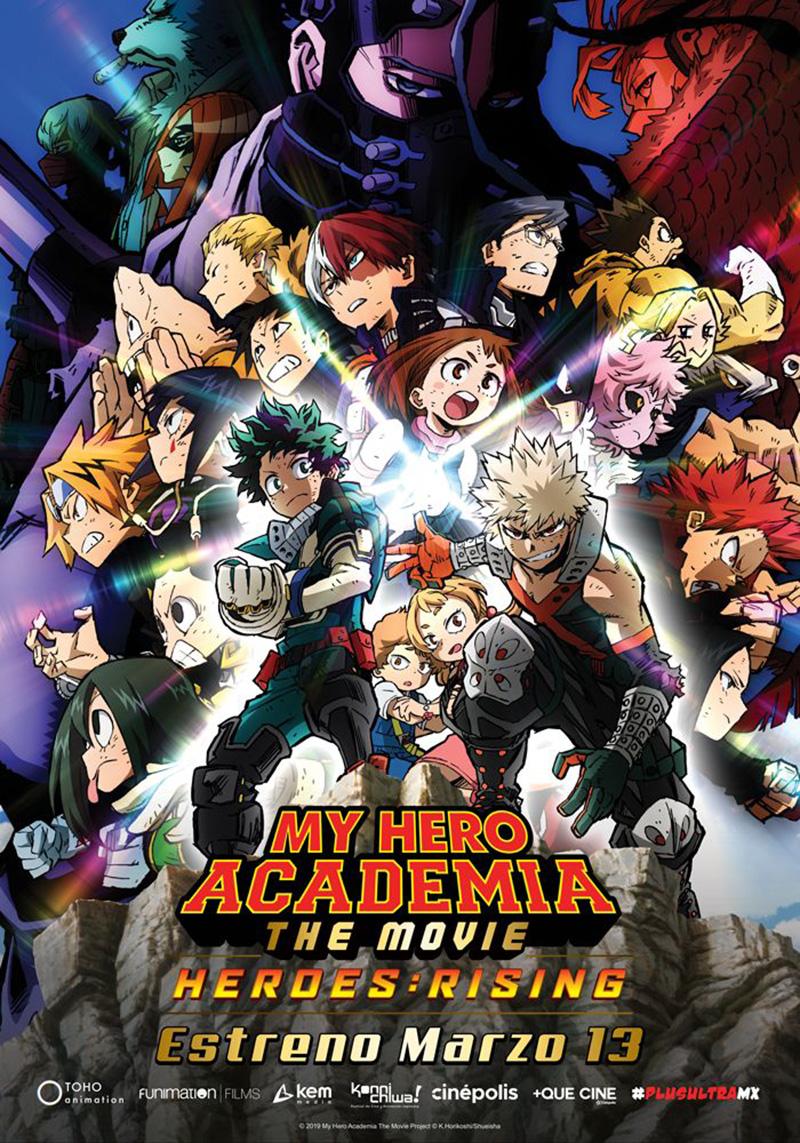 My Hero Academia Rising Heroes poster