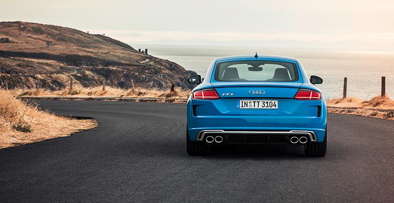 Nuevo Audi TTS TFSI atras