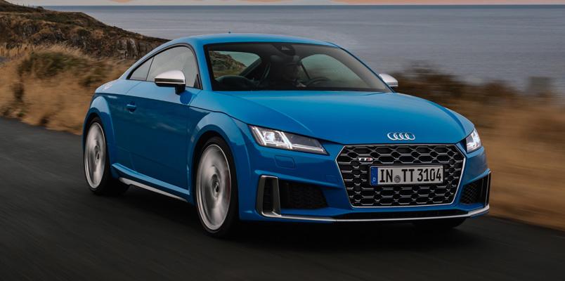 Nuevo Audi TTS TFSI frente
