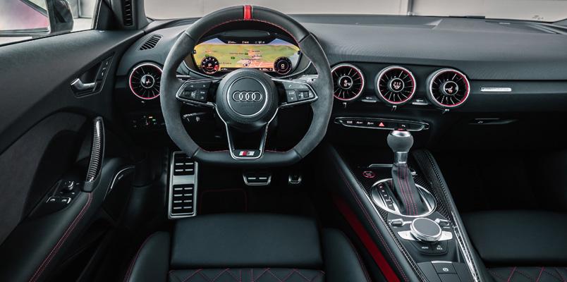 Nuevo Audi TTS TFSI interior