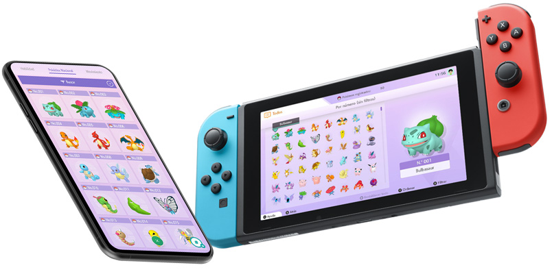 Pokémon HOME ya está disponible para tu smartphone y Switch