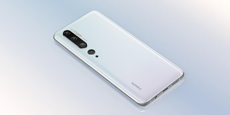Xiaomi Mi Note 10 cinco camaras