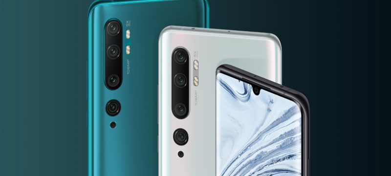 Xiaomi Mi Note 10 seis camaras
